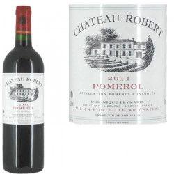 Château Robert Pomerol 2011 - Vin rouge x1