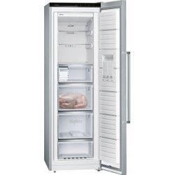 SIEMENS GS36NAI3P - Congélateur armoire - 242 L - Froid no frost multiairflow - A++ - L 60 x H 186 cm - Inox
