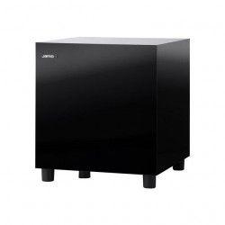 JAMO SUB 210 Gloss Noir - Caisson de Basses Actif - Puissance 200 Watts - Haut Parleur de graves 20 cm - Systeme