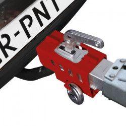 Antivol de remorque/ caravane pliable avec cadenas