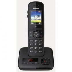 Téléphone résidentiel avec répondeur PANASONIC - KXTGH720FRB