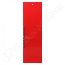 CONTINENTAL EDISON CEFC249RLIZ - Réfrigérateur congélateur bas - 252L (180+72) - Froid statique - A+ - L 54,5cm x H 177cm - Roug